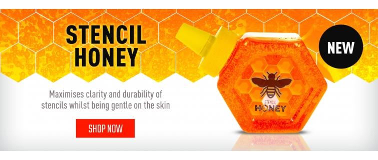 stencil honney