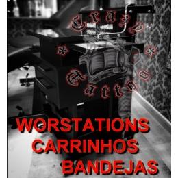WORKSTATIONS/ CARRINHOS/ BANDEJAS