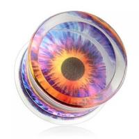 Plug Acrilico Globo Ocular